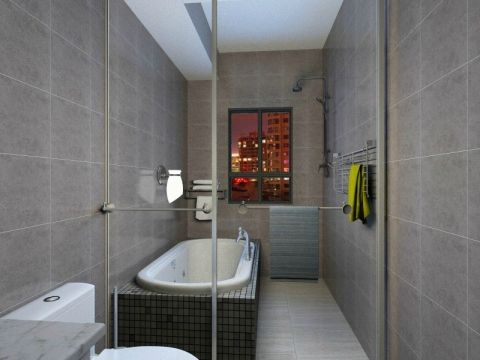 水榭华府两室一厅新中式装修效果图