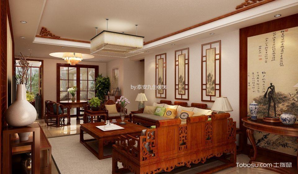 2020中式古典150平米效果图 2020中式古典套房设计图片