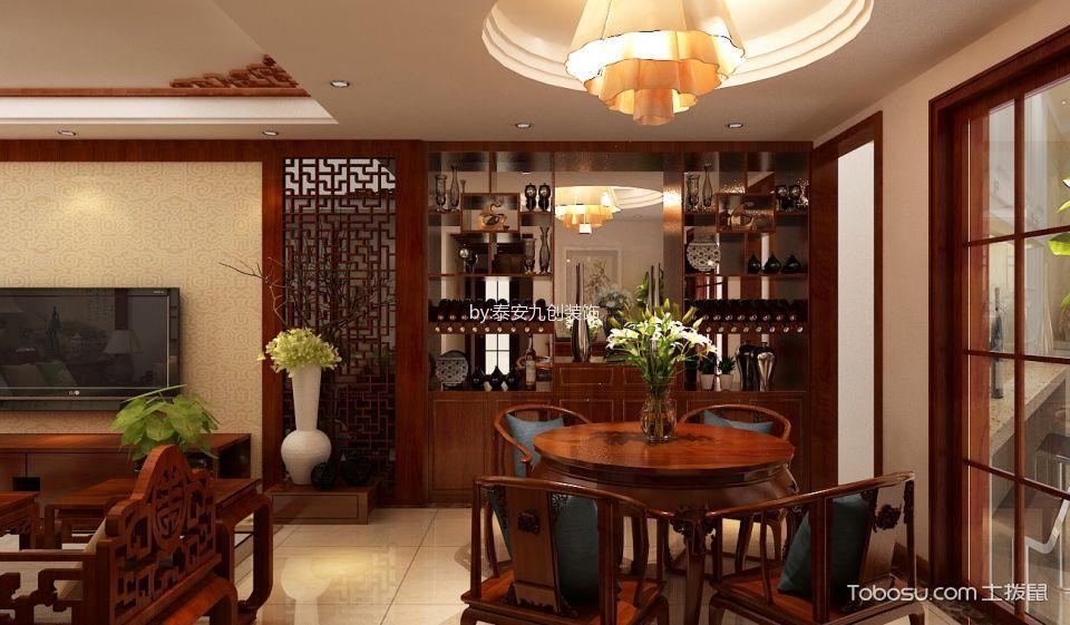 2019中式古典餐厅效果图 2019中式古典设计图片
