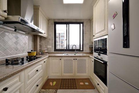 美式小厨房装修效果图