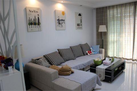 简单风格三居室装修效果图