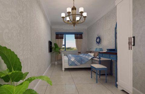 地中海风格小两居装修效果图
