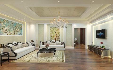 2020简欧90平米效果图 2020简欧二居室装修设计