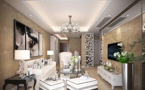 龙湖龙誉城现代简欧风公寓装修图