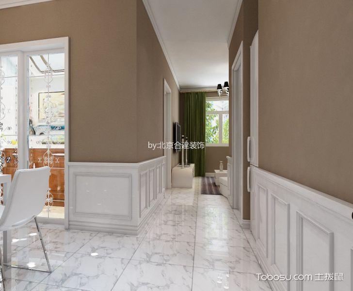 餐厅白色地砖北欧风格装饰图片