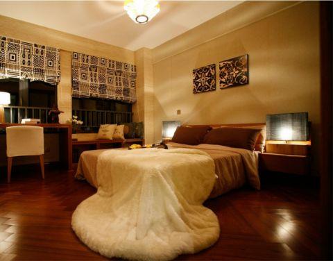 城市理想东南亚风格三居室装修图片