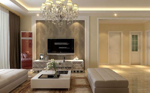 80平米两居室简欧风格