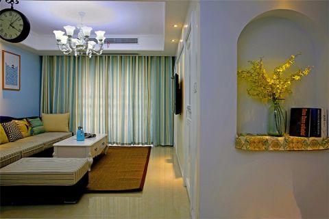 财信渝中城混搭两居室装修效果图