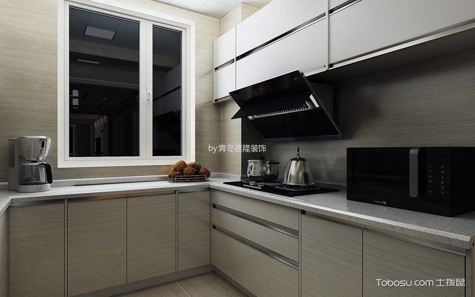 厨房灰色隔断北欧风格效果图