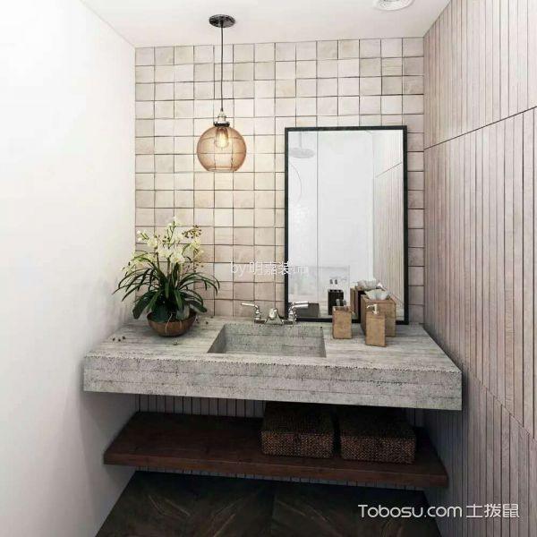北京某小区后现代小复式家居装修效果图