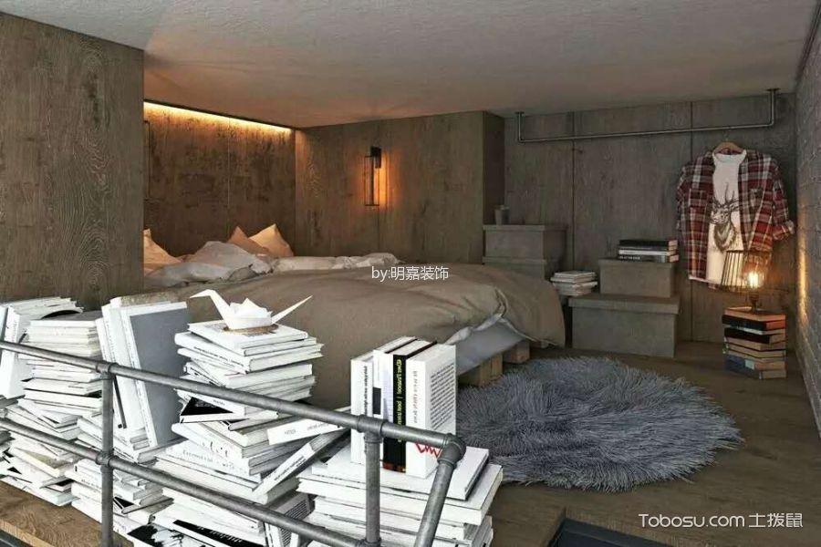 卧室_北京某小区后现代小复式家居装修效果图