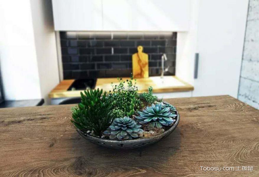 厨房_北京某小区后现代小复式家居装修效果图