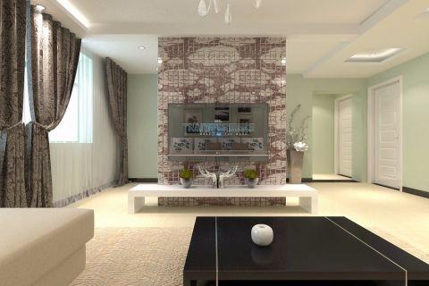 现代简约风格大户型家居设计案例效果图