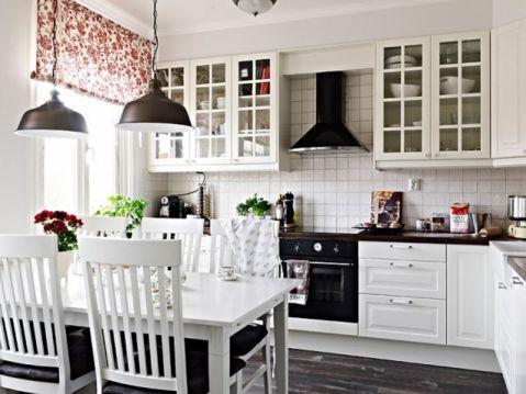 北欧简单风格两居室装修图