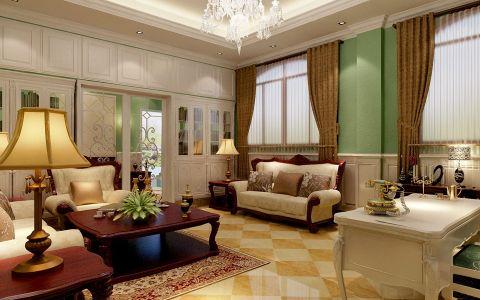 2020欧式100平米图片 2020欧式二居室装修设计