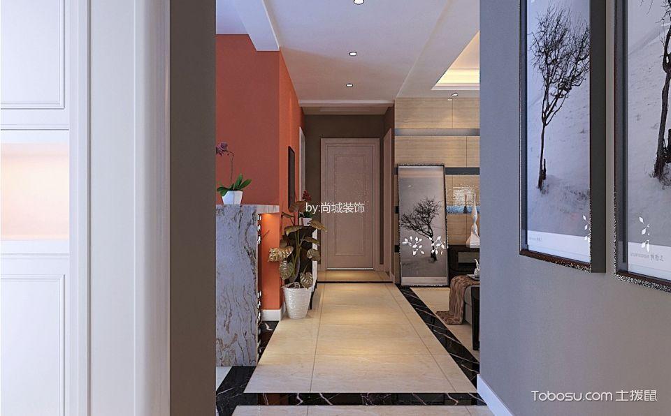 玄关灰色照片墙现代风格装饰设计图片