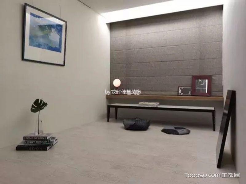 书房灰色窗帘现代风格装修图片