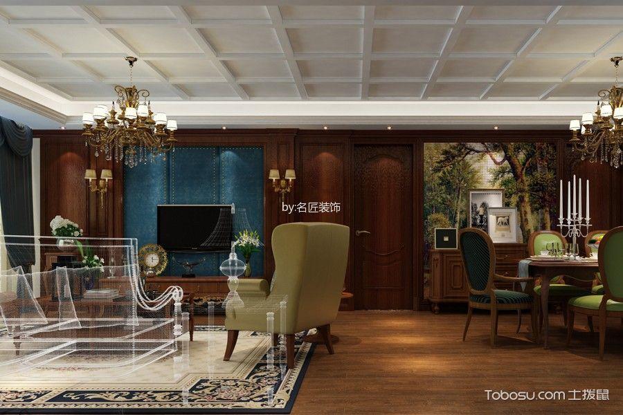 芜湖华强广场206平米美式风格效果图