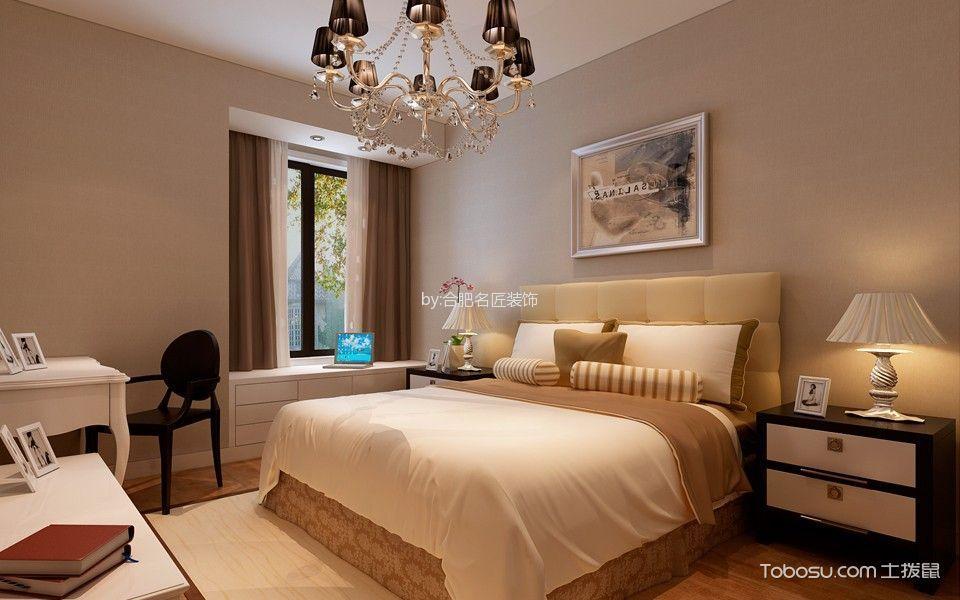 滨湖国际花都108平现代简约风格家庭三居装修效果图