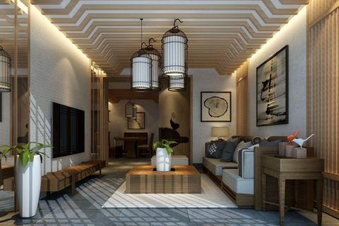 2020混搭110平米装修图片 2020混搭三居室装修设计图片