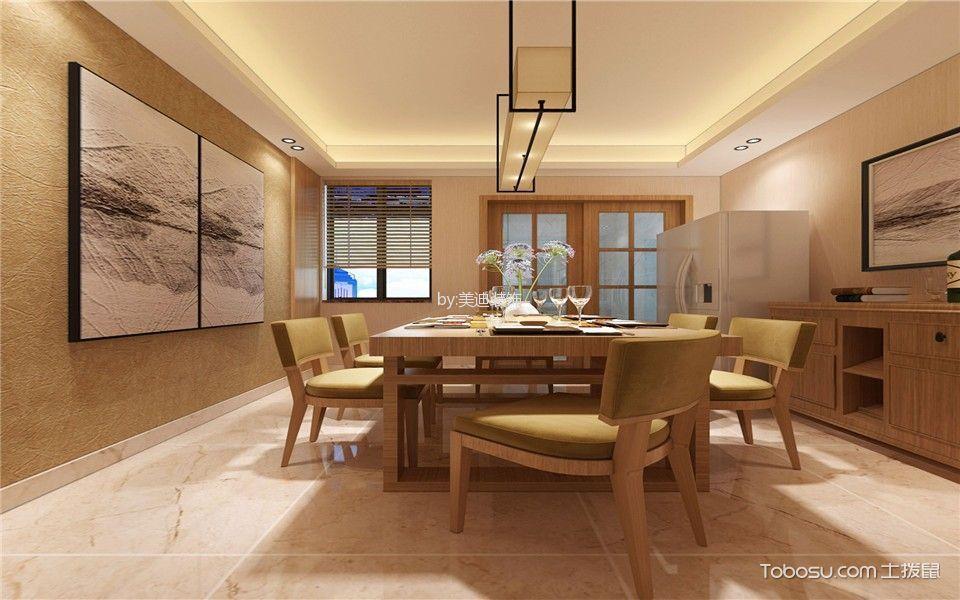 餐厅白色吊顶日式风格装潢图片