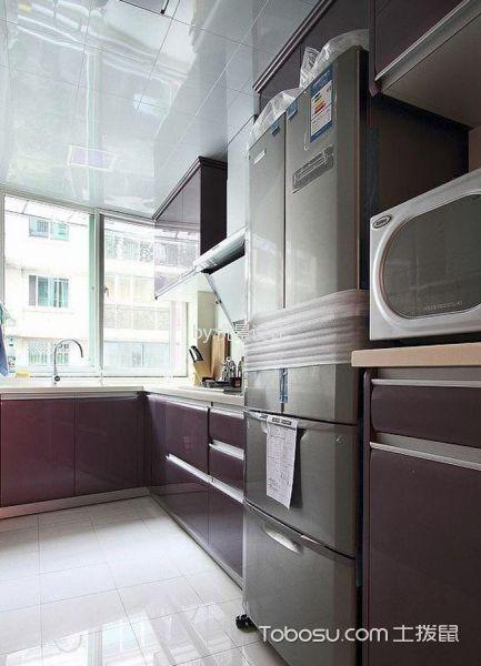 厨房白色吊顶简约风格装潢图片