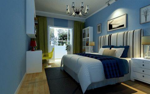 卧室照片墙新中式风格装饰设计图片