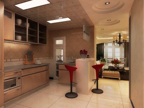 厨房欧式风格装修效果图