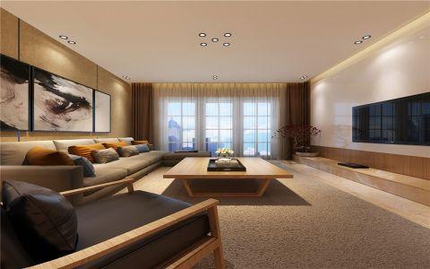 日式三房两厅装修设计效果图
