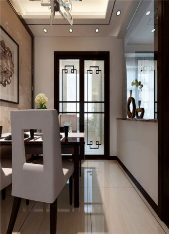 新中式四居两厅装修设计效果图