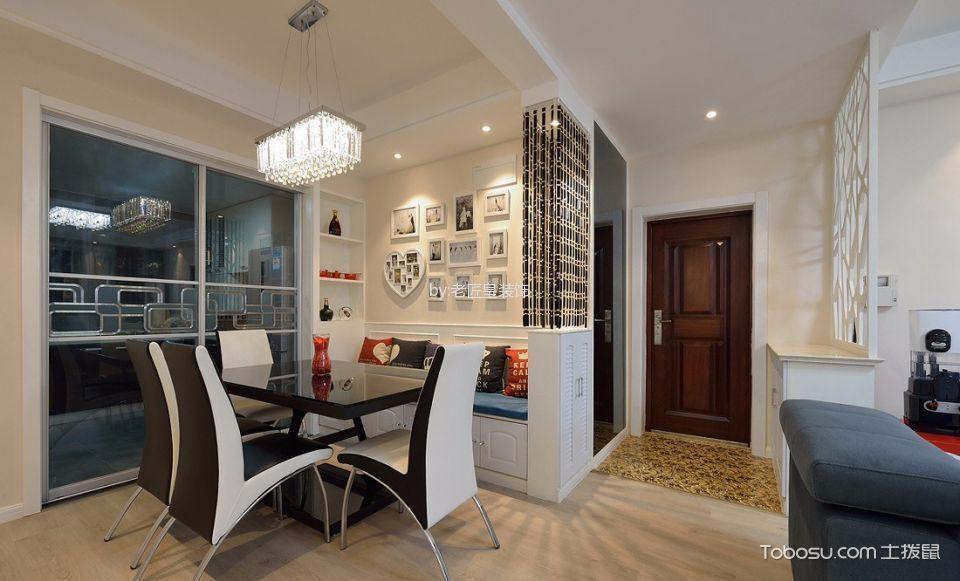 厨房白色隔断现代风格装修图片