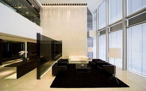 办公楼现代简约风格装修效果图