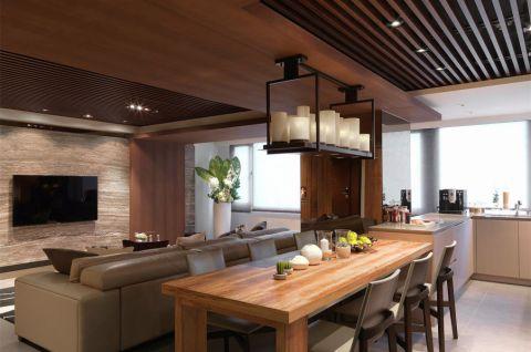 2020现代简约110平米装修设计 2020现代简约四居室装修图