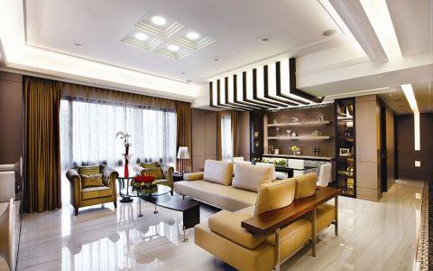 泰盈八千里三居室中式风格效果图