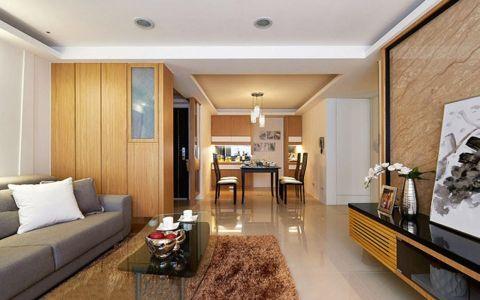 94平三室两厅 现代简约风格老房改造