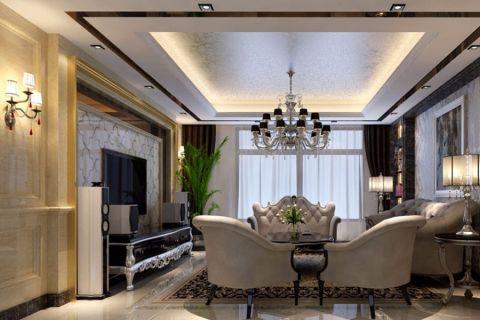 欧式风格融入了现代的生活元素。欧式的居室有的不只是豪华大气,更多的是惬意和浪漫。