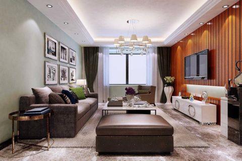 客厅背景墙简约风格装修设计图片