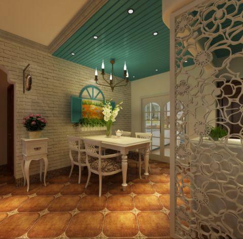 餐厅地中海风格装修效果图