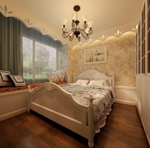 卧室地中海风格装饰效果图