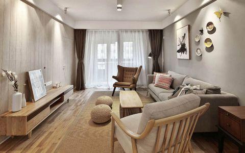 客厅吊顶北欧风格装饰效果图