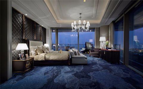 卧室吊顶混搭风格装饰设计图片
