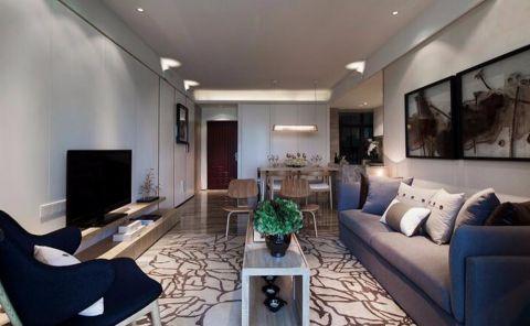 金盛公寓温馨两居现代简约装修设计