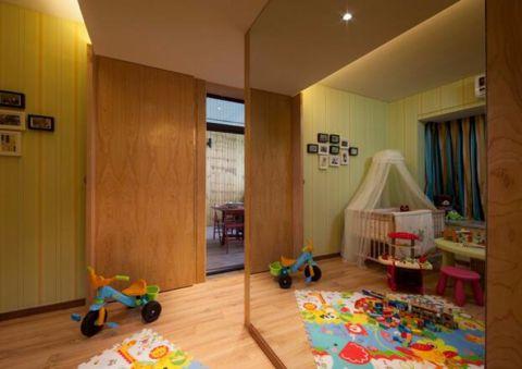 儿童房现代简约风格装潢设计图片