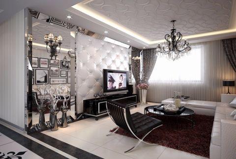 祥居公寓现代简约风格设计图片