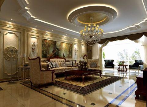 长江公寓欧式典雅唯美风格设计装修图片