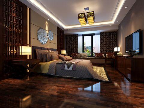卧室中式古典风格装修设计图片