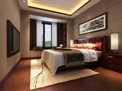 卧室中式古典风格装饰设计图片