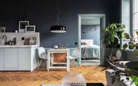 2019现代欧式90平米装饰设计 2019现代欧式三居室u乐娱乐平台设计图片
