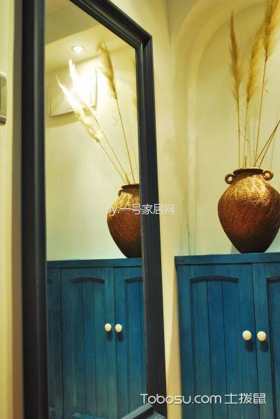 卫生间黄色吊顶混搭风格装潢设计图片