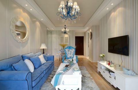 地中海风格两居室家居设计图赏